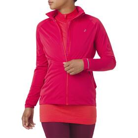 asics System Running Jacket Women red